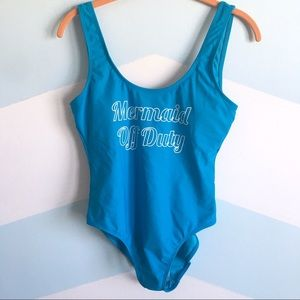 Other - NWT // Mermaid Off Duty One Piece Bathing Suit